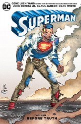 DC - Superman Vol 1 Before Truth TPB