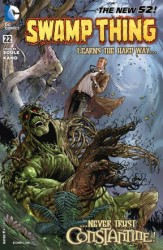 DC - Swamp Thing (New 52) # 22