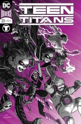 DC - Teen Titans # 23 Foil