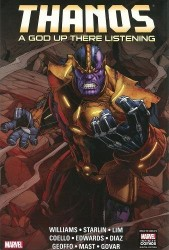 Marvel - Thanos A God Up There Listening HC