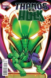 Marvel - Thanos Vs Hulk # 4 Lim Variant
