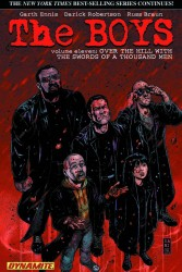 Dynamite - Boys Vol 11 Over the Hill with the Swords of a Thousand Men TPB