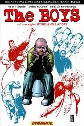 Dynamite - Boys Vol 8 Highland Laddie TPB Darick Robertson İmzalı