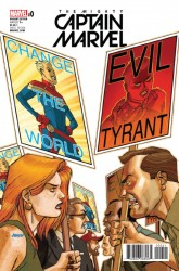 Marvel - Mighty Captain Marvel # 0 NOW Johnson Variant