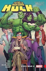 Marvel - Totally Awesome Hulk Vol 2 Civil War II TPB