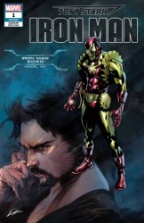 Marvel - Tony Stark Iron Man # 1 Iron Man 2020 Variant