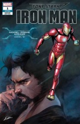 Marvel - Tony Stark Iron Man # 1 Marquez Variant
