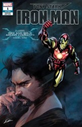 Marvel - Tony Stark Iron Man # 1 Nose Armor Variant
