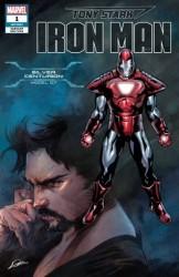 Marvel - Tony Stark Iron Man # 1 Silver Centurion Armor Variant