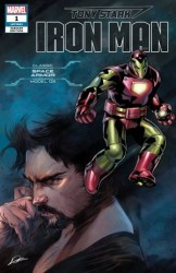 Marvel - Tony Stark Iron Man # 1 Space Armor Variant