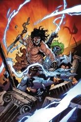 Marvel - Tony Stark Iron Man # 8 Conan Variant