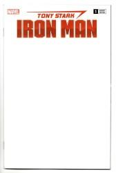 Marvel - Tony Stark Iron Man # 1 Blank Variant