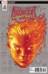Marvel - Uncanny Avengers # 28 McKone Headshot Variant