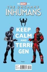 Marvel - Uncanny Inhumans # 4 Raney Deadpool Variant