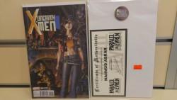 Marvel - Uncanny X-Men # 600 Variant Mahmud Asrar İmzalı Sertifikalı