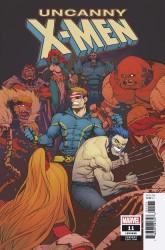 Marvel - Uncanny X-Men (2018) # 11 Petrovich Variant