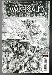 Marvel - War Of Realms # 2 1:200 Art Adams Variant