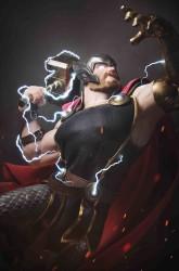 Marvel - War Of Realms # 1 Hugo Thor Variant