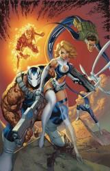Marvel - Weapon H # 6 J Scott Campbell Variant