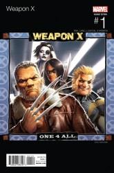 Marvel - Weapon X # 1 Nakayama Hip Hop Variant