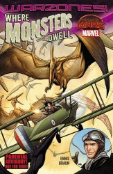 Marvel - Where Monsters Dwell The Phantom Eagle Flies the Savage Skies Warzones! TPB