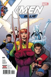 Marvel - X-Men Blue # 4