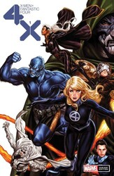 Marvel - X-Men Fantastic Four # 1 Brooks Variant