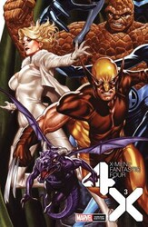 Marvel - X-Men Fantastic Four # 3 Brooks Variant