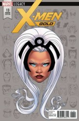 Marvel - X-Men Gold # 13 Headshot Variant