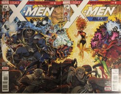 Marvel - X-Men Gold #13 X-Men Blue #13 Connecting Variant Set
