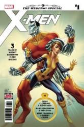 Marvel - X-Men Wedding Special # 1 J. Scott Campbell Kapak