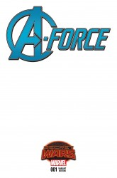 Marvel - A-Force # 1 SWA Blank Variant