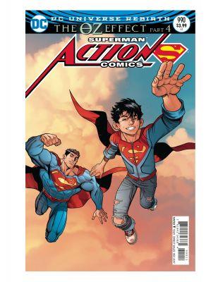 Action Comics # 990 (Oz Effect) Lenticular Variant