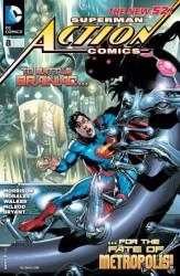DC - Action Comics (New 52) # 8
