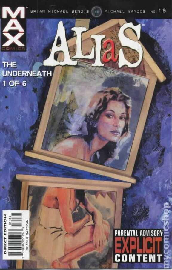 Marvel - ALIAS (2001) # 16
