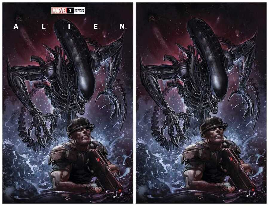 - ALIEN # 1 CLAYTON CRAIN EXCLUSIVE VARIANT SET