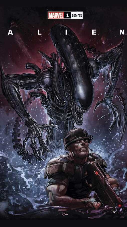 - ALIEN # 1 CLAYTON CRAIN EXCLUSIVE VARIANT TRADE DRESS
