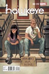 Marvel - All New Hawkeye # 2 Noto Variant
