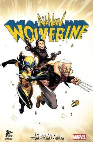Çizgi Düşler - All New Wolverine Cilt 2 İç Savaş II