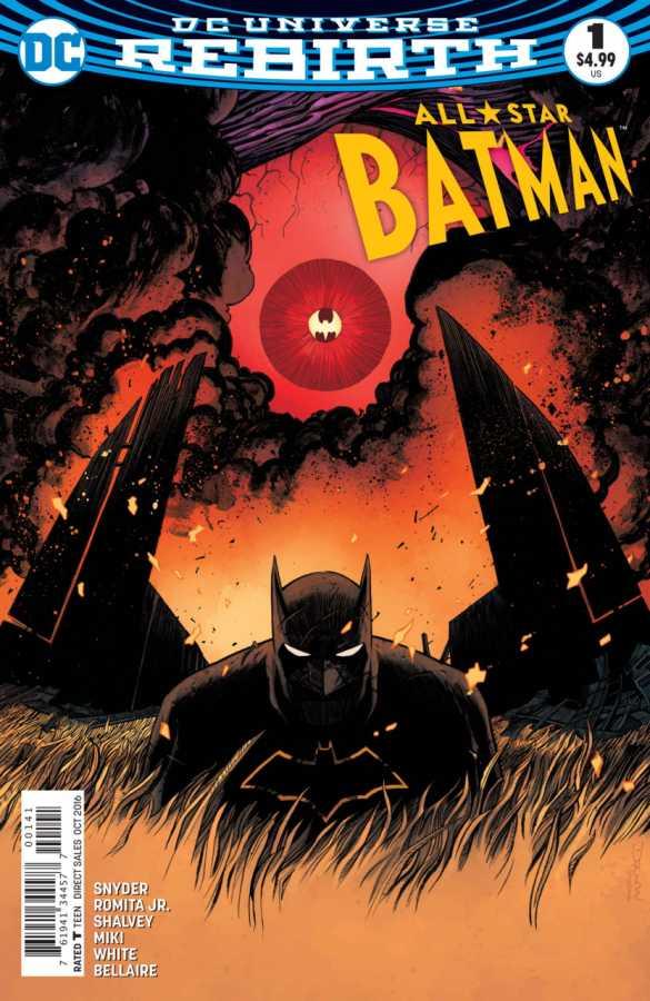 DC - All Star Batman # 1 Shalvey Variant