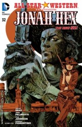 DC - All Star Western Featuring Jonah Hex (New 52) # 32