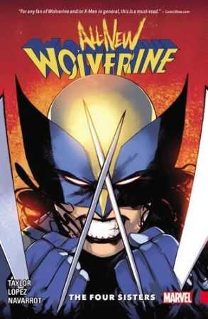 Marvel - All New Wolverine Vol 1 The Four Sisters TPB