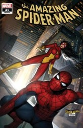 Marvel - Amazing Spider-Man (2018) # 41 Brown Spider-Woman Variant