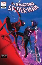 Marvel - Amazing Spider-Man (2018) # 54 1:10 GOULDEN SPIDER-MAN MILES MORALES VAR