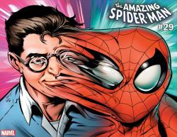 Marvel - Amazing Spider-Man (2018) # 29 Bagley Immortal Hulk Wraparound Variant