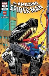 Marvel - Amazing Spider-Man (2018) # 55 RON LIM LEGO VAR LR