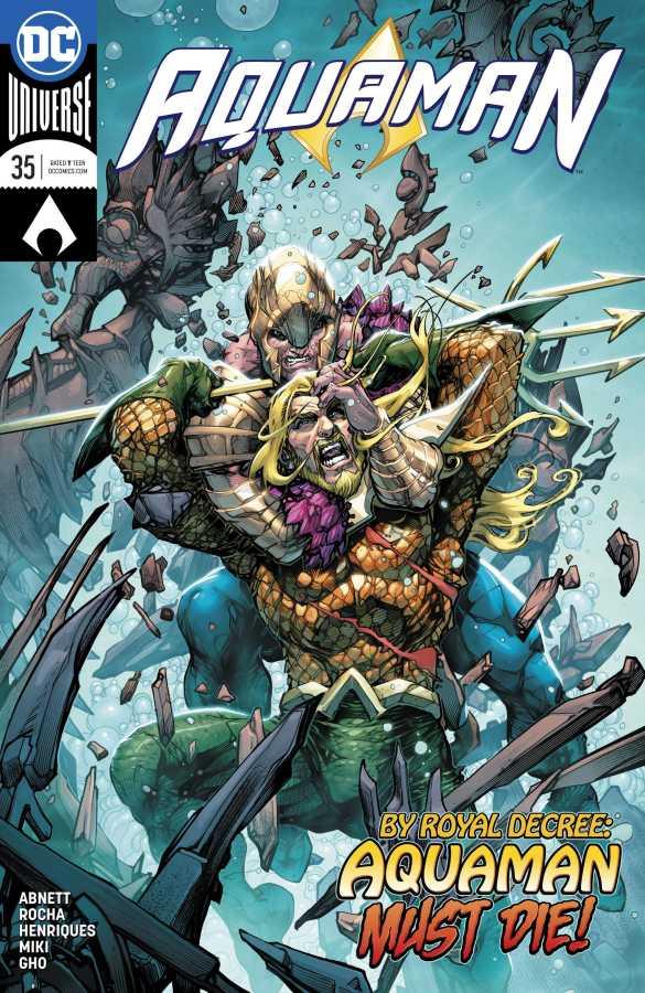 DC - Aquaman # 35