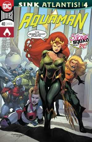 Aquaman # 40 (Sink Atlantis)