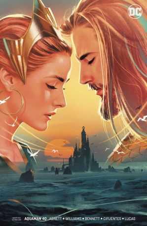 Aquaman # 40 (Sink Atlantis) Middleton Variant