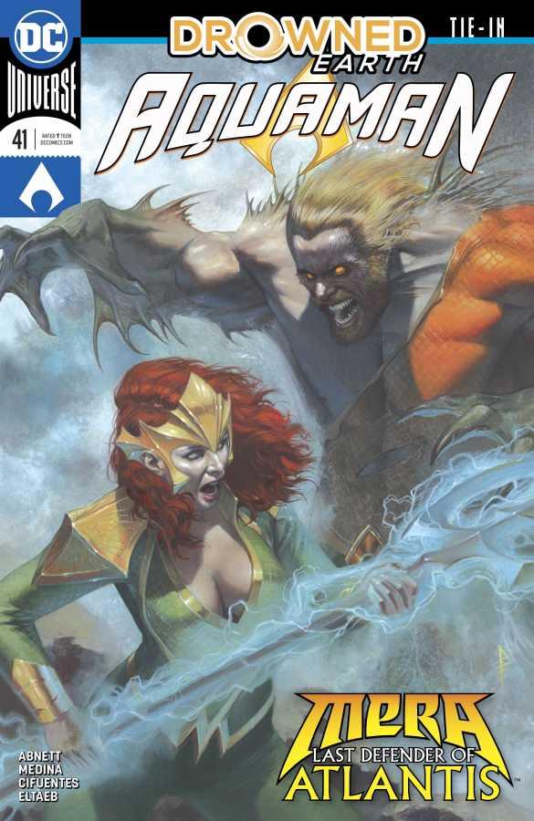 Aquaman # 41 (Drowned Earth)